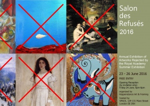 Salon des Refuses 2016 - Exhibition Invitation E-Flyer